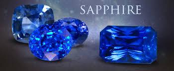 Genuine Blue Sapphire Gemstone Jewelry