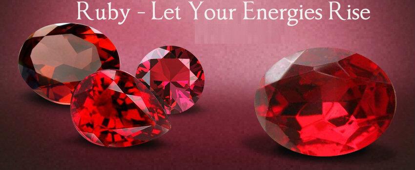 Genuine Ruby Gemstone Jewelry