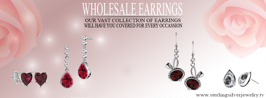 wholesale silver earrings